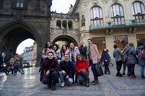 экскурсии на курсах за границей