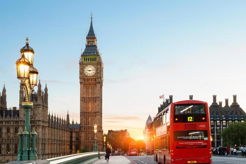 английский в лондоне
