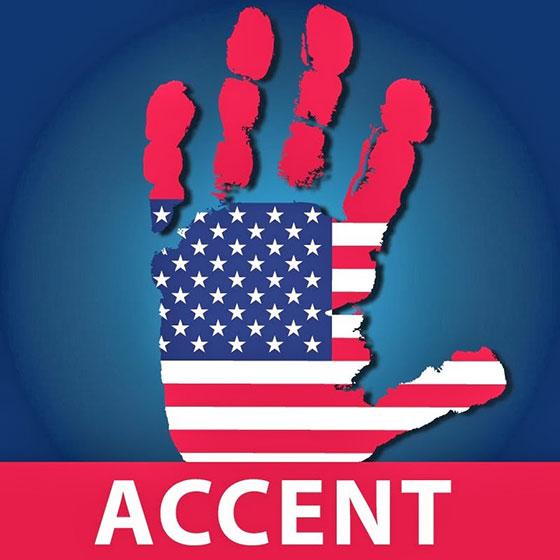 американское произношение