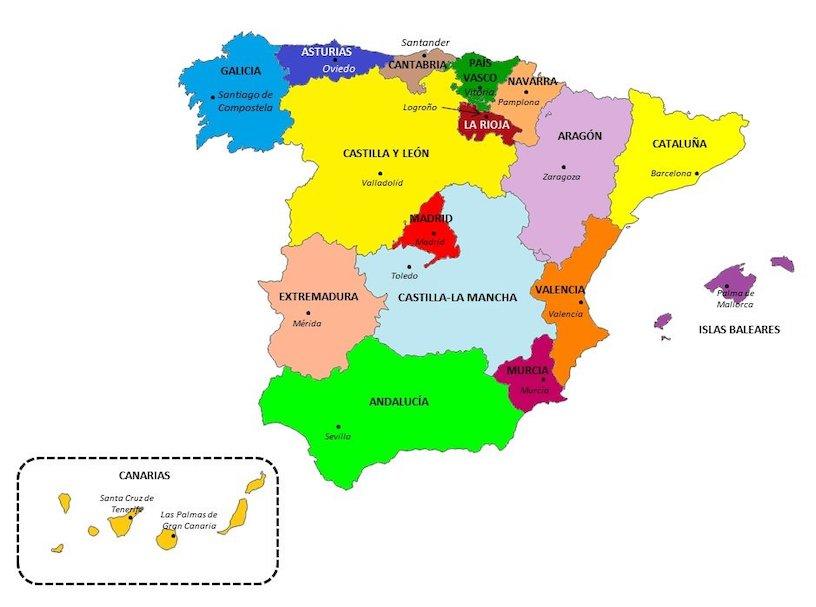 испанские диалекты